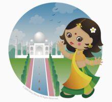 Indian girl by Macy Wong
