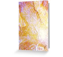 Primary Elements Yellow Greeting Card