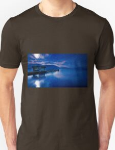 Jetty under the moon T-Shirt