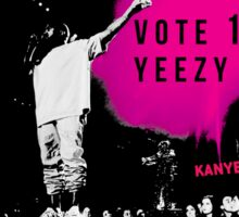 YEEZY FOR PRESIDENT  Sticker