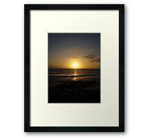 Tenerife Sunset Framed Print
