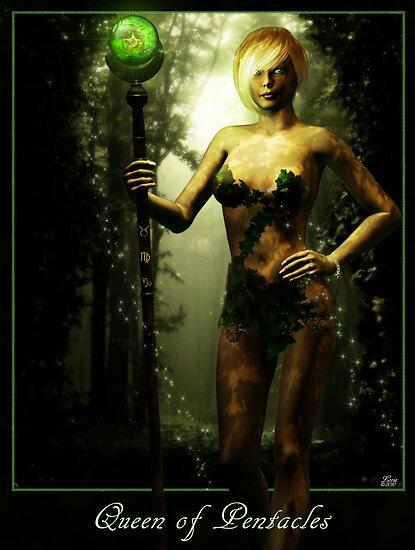 Queen of Pentacles by inkcharmer