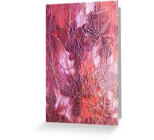 Primary Elements Red Greeting Card