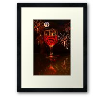 Where's the Party... Framed Print