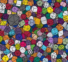 Gamer Dice by piratical