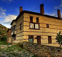Old House in Kastoria... by Tania Koleska