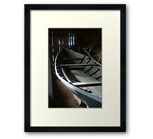 """Bateau Shed"" Framed Print"