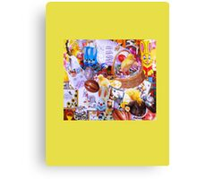 Funky Easter Canvas Print