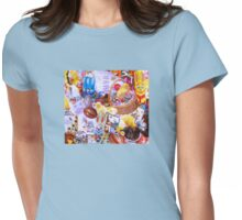 Funky Easter Womens Fitted T-Shirt