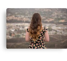 Daisy Valley Canvas Print