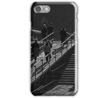 Morning walkers iPhone Case/Skin