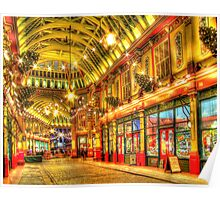 Where is Diagon Alley? - Leadenhall Market Series - London - HDR Poster