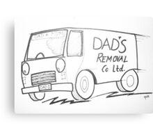 dad's removal co ltd Canvas Print