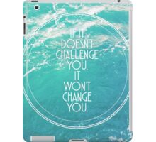 Challenge & Change iPad Case/Skin