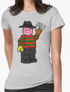 Horror Toys - Freddy Womens Fitted T-Shirt