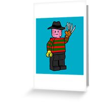 Horror Toys - Freddy Greeting Card