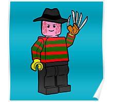 Horror Toys - Freddy Poster