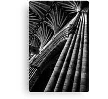 Exeter Cathedral (1) Canvas Print