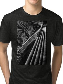 Exeter Cathedral (1) Tri-blend T-Shirt