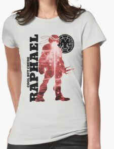 TMNT - Cool But Crude Womens Fitted T-Shirt