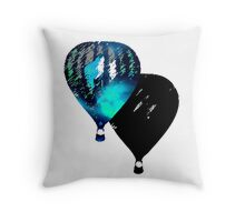 Hot Air Throw Pillow