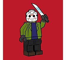 Horror Toys - Jason Photographic Print