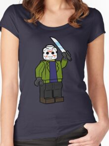 Horror Toys - Jason Women's Fitted Scoop T-Shirt