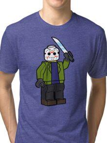 Horror Toys - Jason Tri-blend T-Shirt