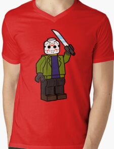 Horror Toys - Jason Mens V-Neck T-Shirt