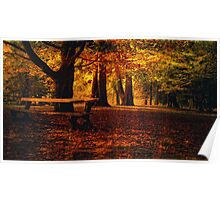 Ode to Autumn Poster