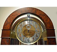 Classic timepiece Photographic Print