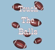Touch the Balls .. Rugby Kids Tee