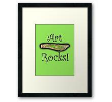 Art Rocks #3 Framed Print