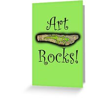 Art Rocks #3 Greeting Card
