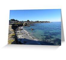 Pacific Grove, CA Shoreline Greeting Card