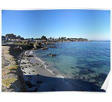 Pacific Grove, CA Shoreline Poster