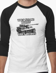 They see rollin they heilin Men's Baseball ¾ T-Shirt