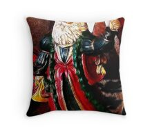 Jolly Ol' St. Nick Throw Pillow