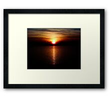 Everything is Eventual and Centered Framed Print