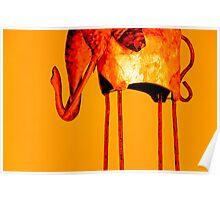 Burnt Elephant Poster