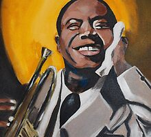 A Young Louis Armstrong by Josephine Mulholland