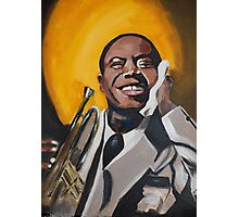A Young Louis Armstrong Photographic Print