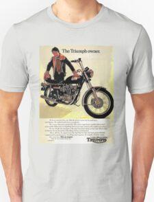 The Triumph Owner - he's an expert - advert. T-Shirt