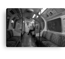 The Lone Commuter Metal Print
