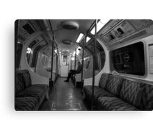 The Lone Commuter Canvas Print