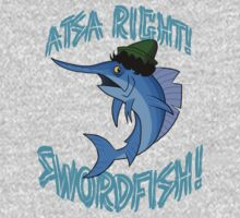 Atsa Right! Swordfish!  by DanDav