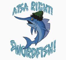 Atsa Right! Swordfish!  One Piece - Long Sleeve