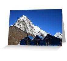 Himalaya roofs Greeting Card