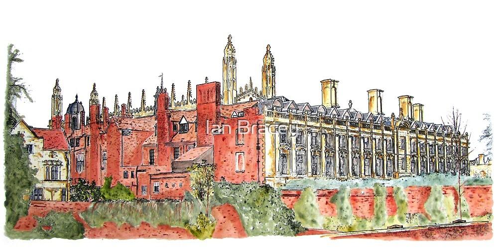 Clare College Backs, Cambridge by Ian Bracey