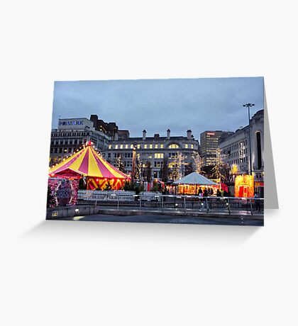 Manchesters Magical Christmas Campaign  Greeting Card